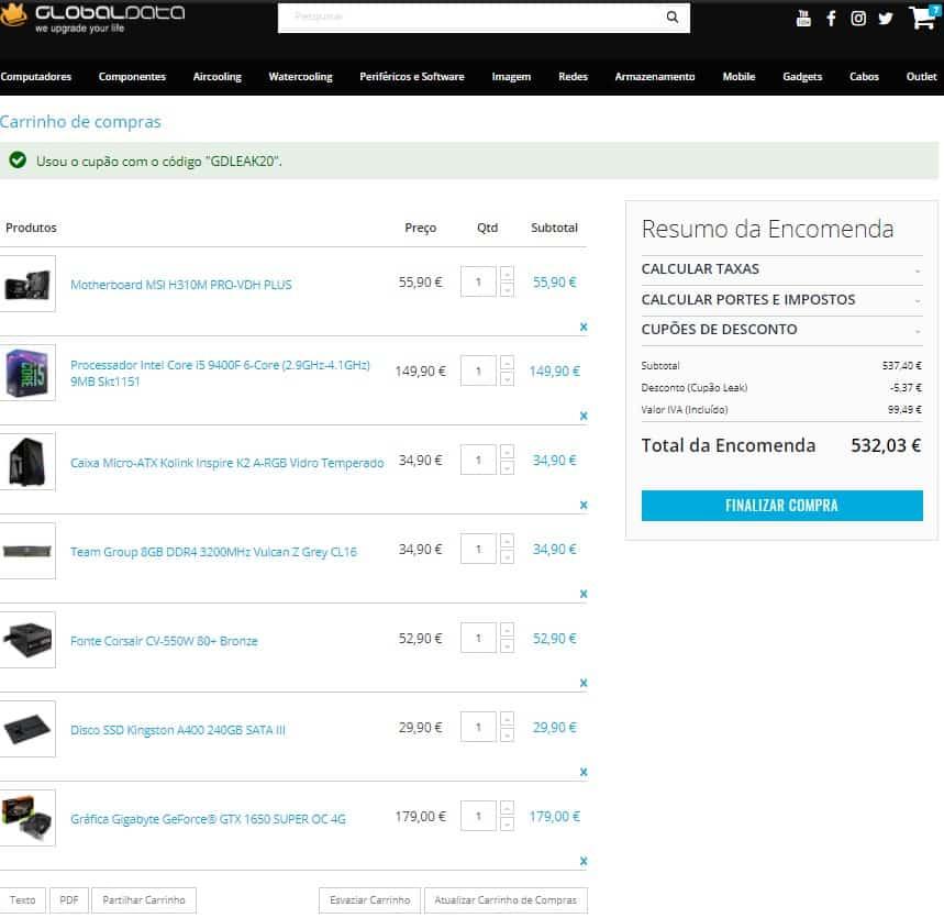 PC Gaming 500€