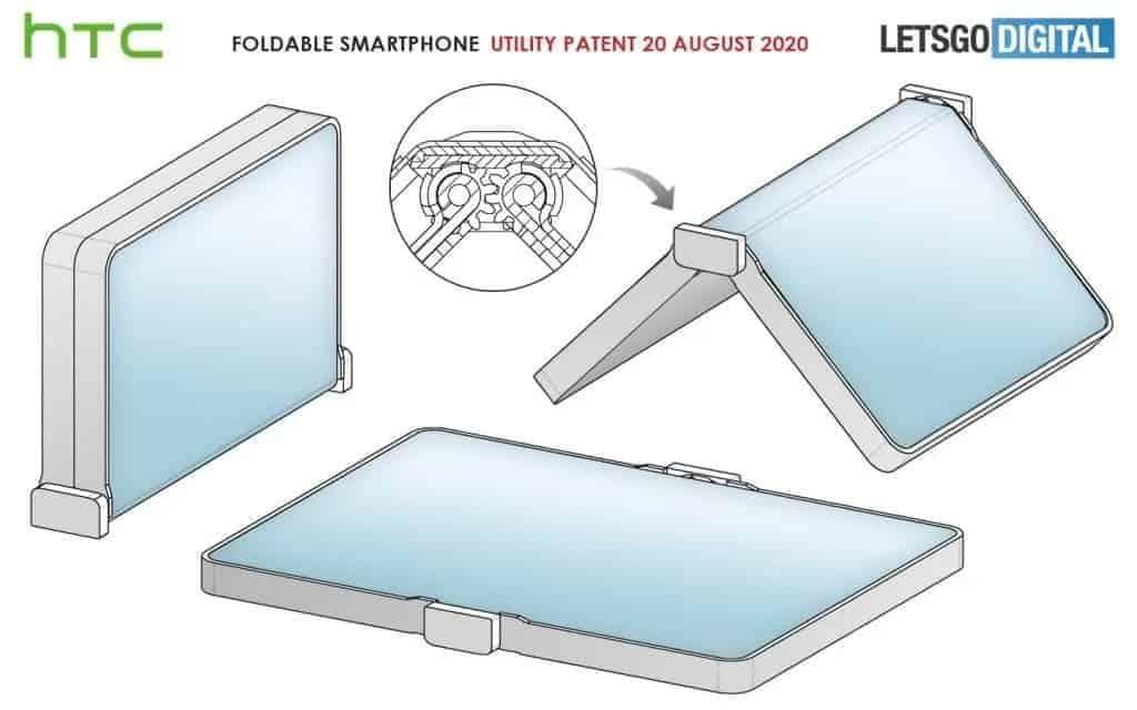 HTC smartphone dobrável