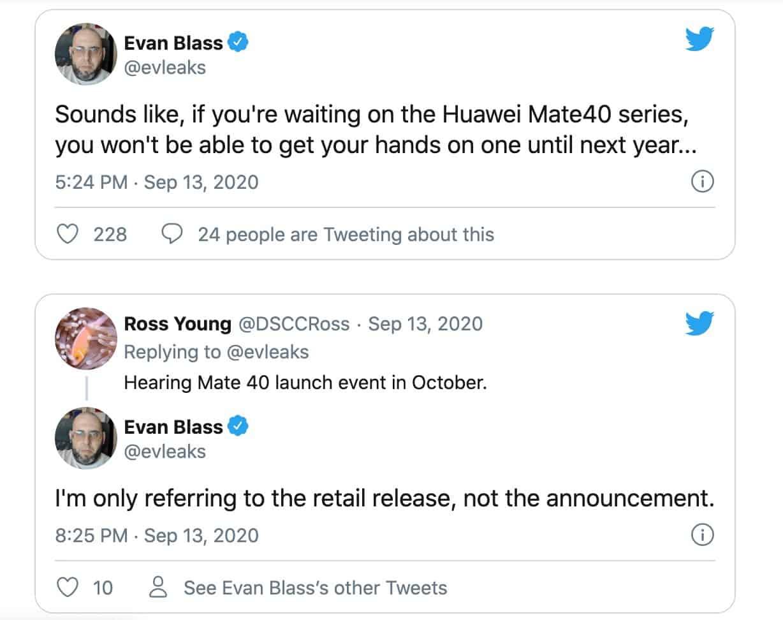 Huawei Mate 40 2021