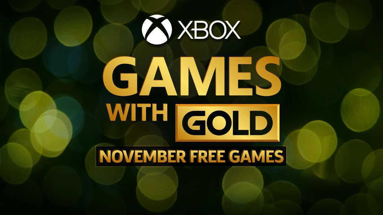 Xbox Games With Gold Novembro
