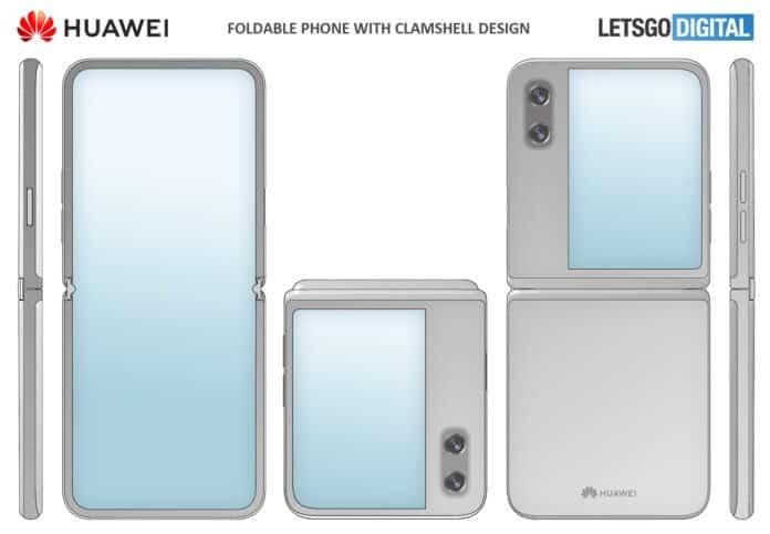 Huawei Z Flip dobrável