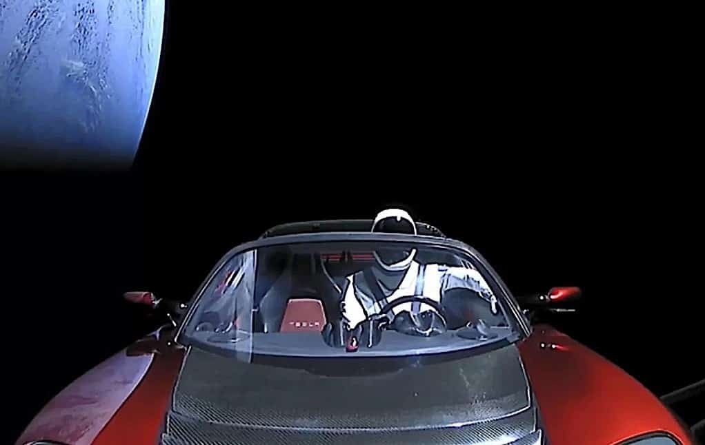 Starman Marte