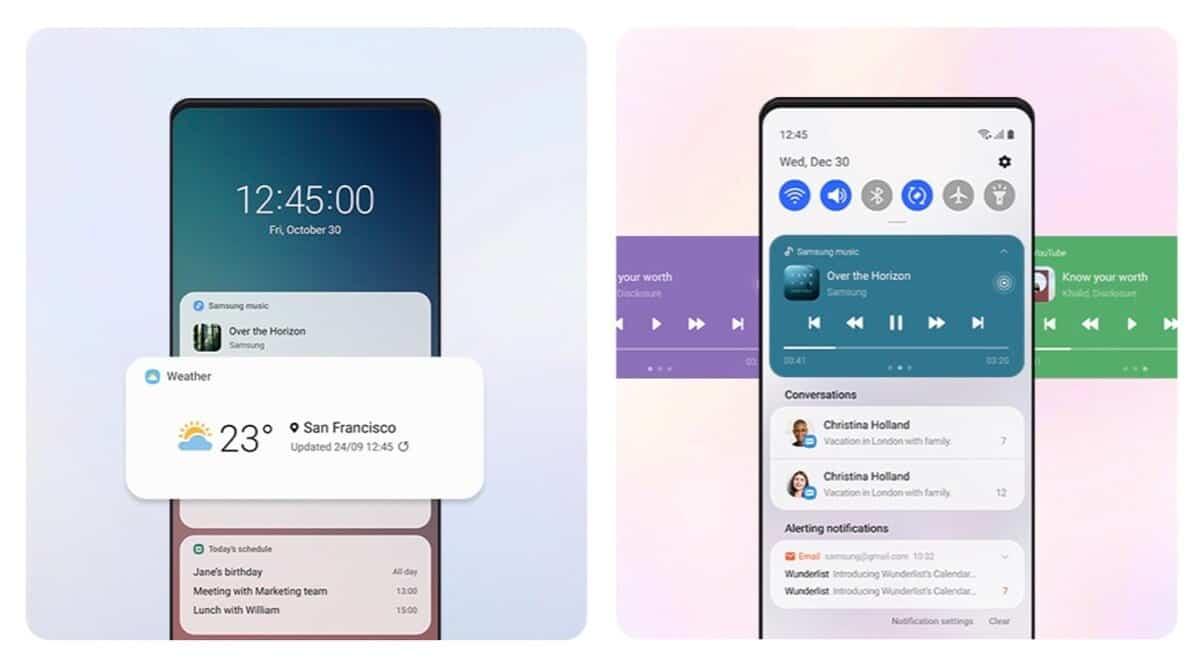 Samsung One UI 3