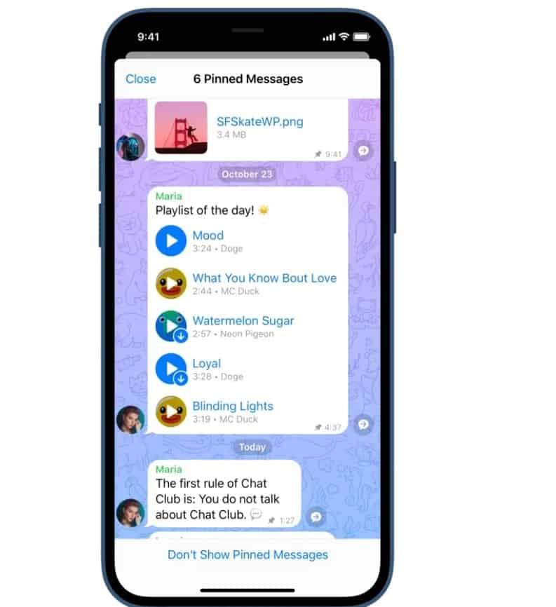 Notícias do Android Telegram