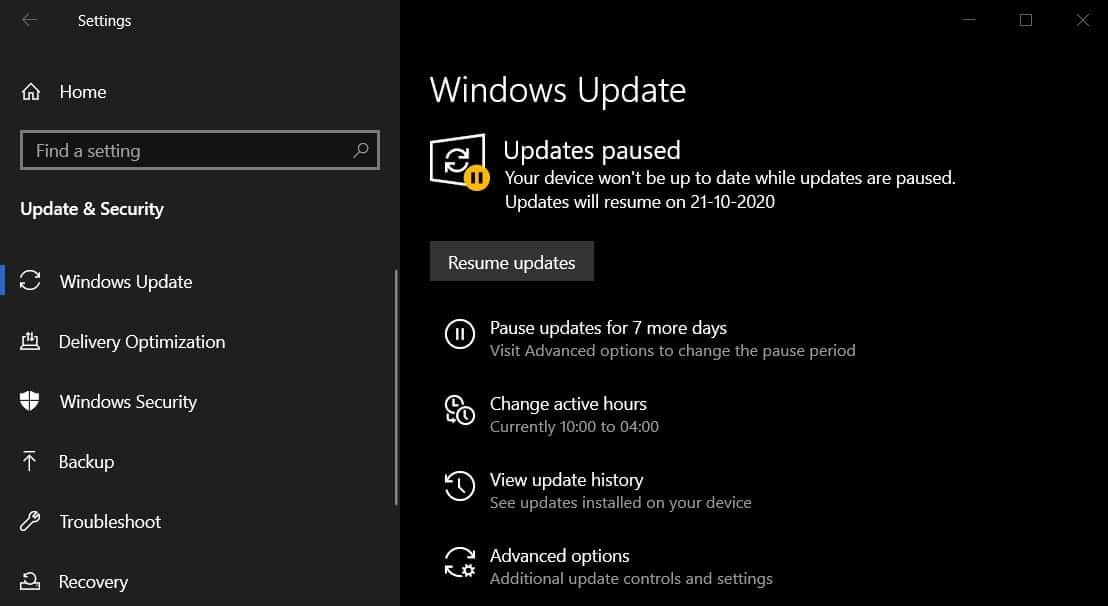 Windows 10 periféricos