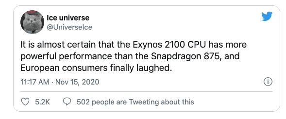 875 Exynos 2100