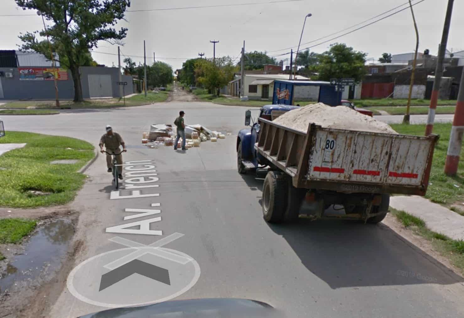 Google Maps camionista