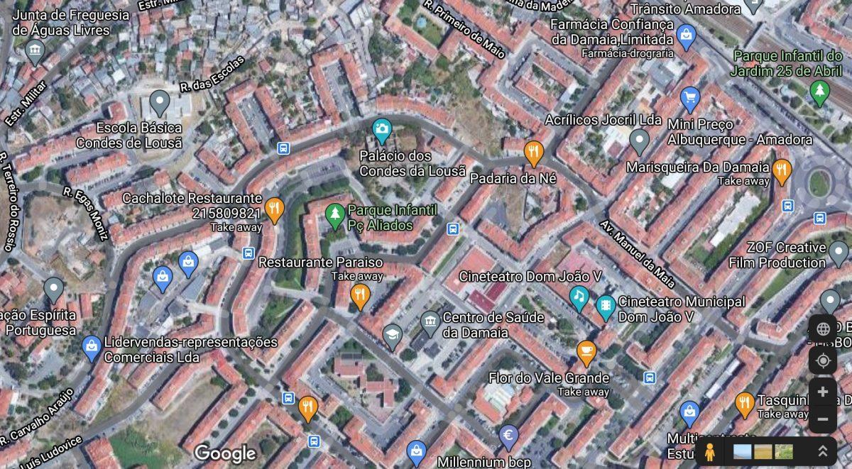 Google Maps criminosos