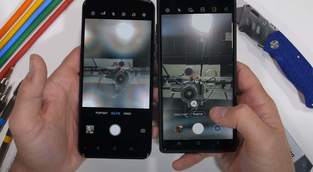 Samsung câmara IA