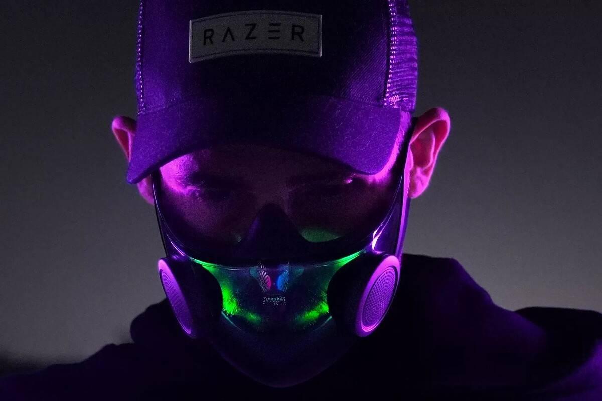 máscara RGB