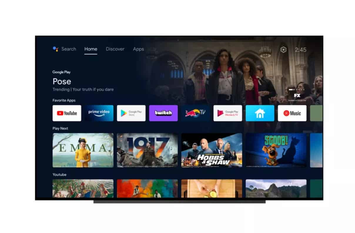 Android 12 Android TV