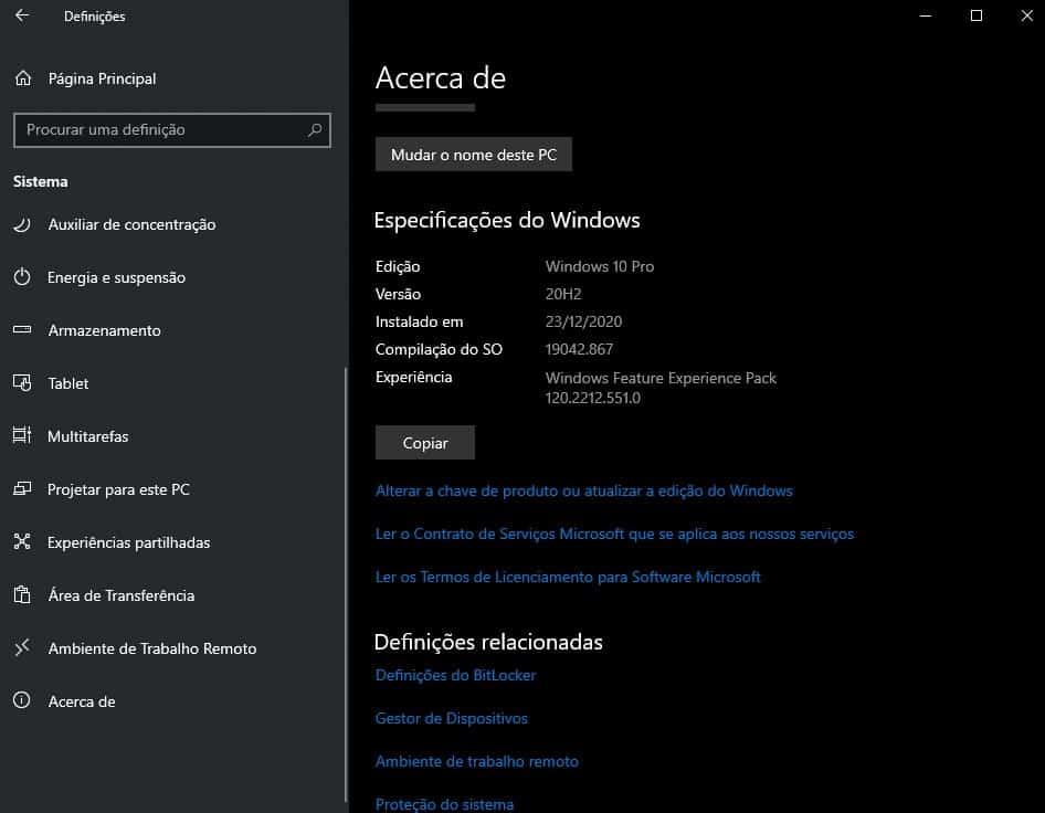 Windows 10 esconder pastas