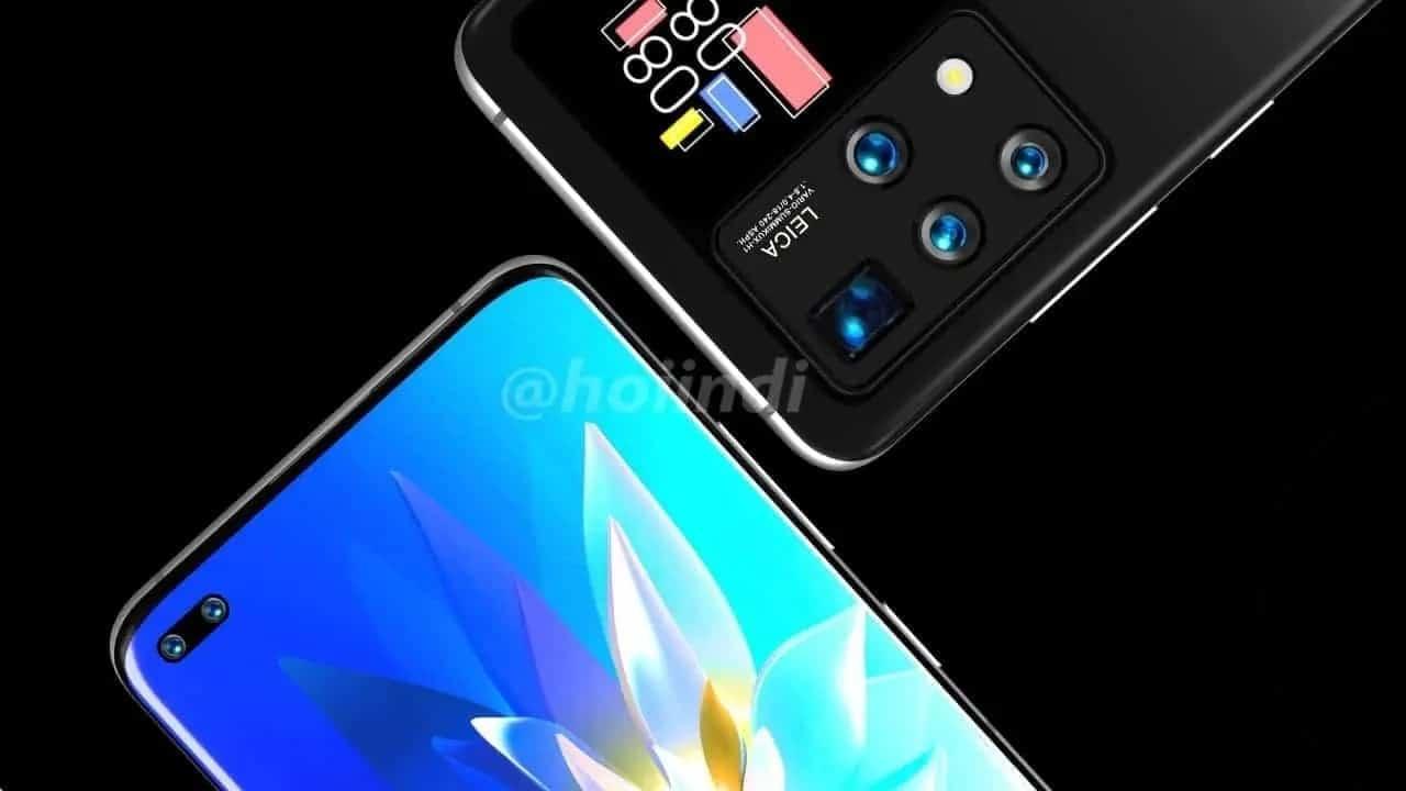 Huawei dois ecrãs