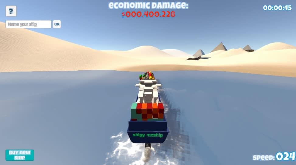 navio canal suez
