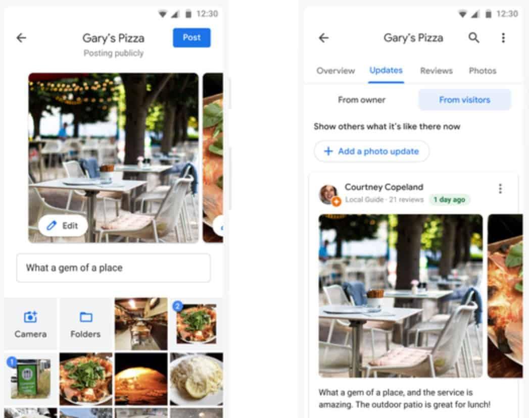Google Maps social