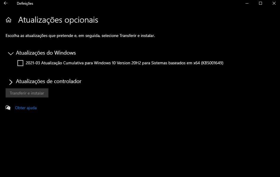 Windows 10 emergência