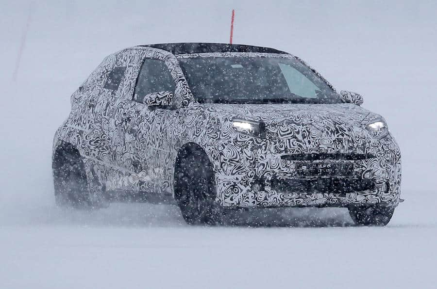 Toyota Aygo apanhado