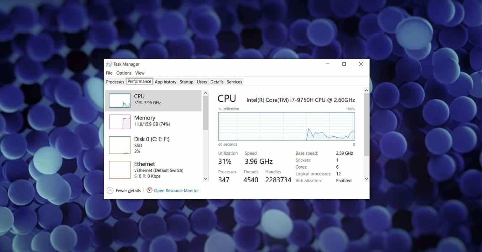 Windows 10 jogos rápidos