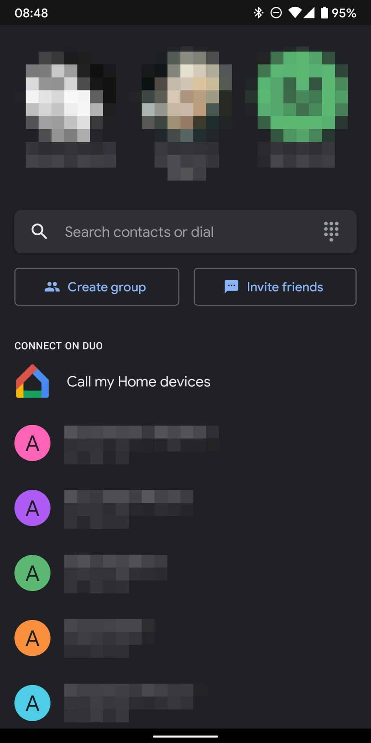 Botón de Google Dio