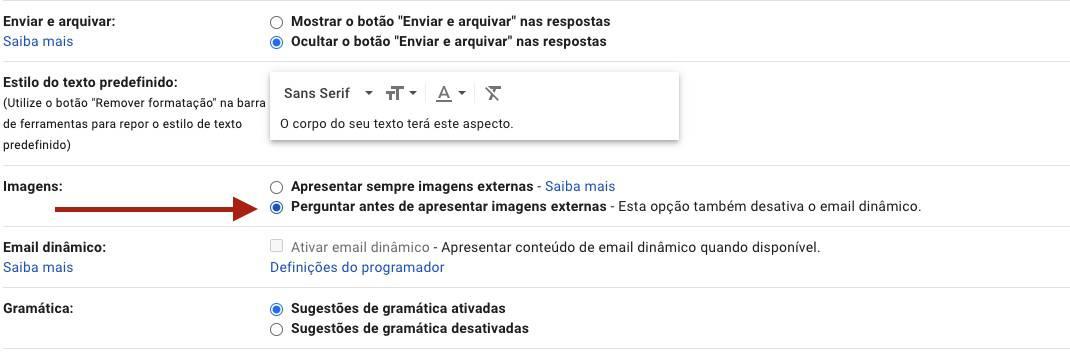 Gmail informações